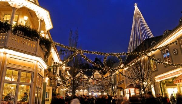 Weihnachtsmarkt Liseberg in Göteborg (c) Göran Assner - imagebank.sweden